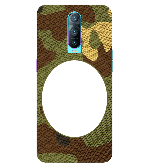 Camouflage Photo Back Cover for Oppo RX17 Pro