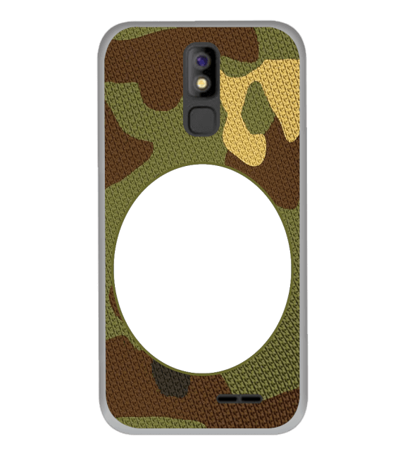 Camouflage Photo Back Cover for Panasonic P100