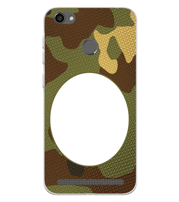 Camouflage Photo Back Cover for Panasonic P85 NXT