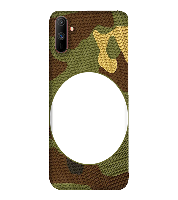 Camouflage Photo Back Cover for Realme C3