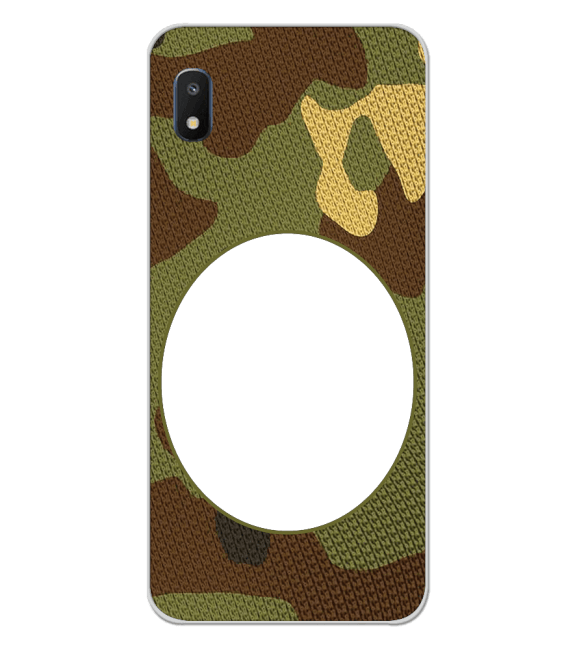 Camouflage Photo Back Cover for Samsung Galaxy A10e