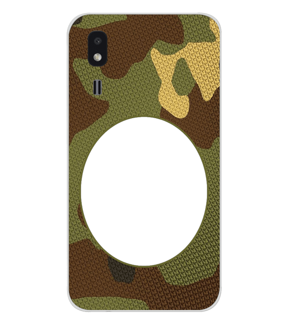 Camouflage Photo Back Cover for Samsung Galaxy A2 Core