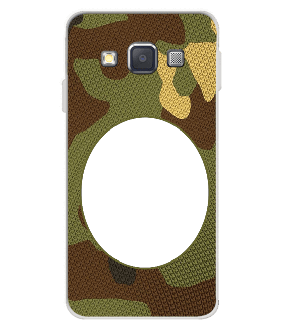 Camouflage Photo Back Cover for Samsung Galaxy A3 (2015)