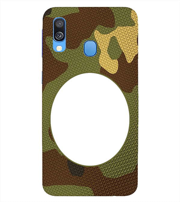 Camouflage Photo Back Cover for Samsung Galaxy A40