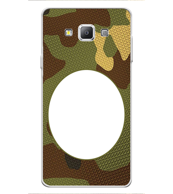 Camouflage Photo Back Cover for Samsung Galaxy A7 (2015)