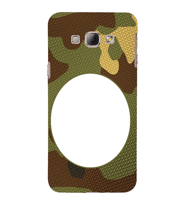 Camouflage Photo Back Cover for Samsung Galaxy A8 (2015)