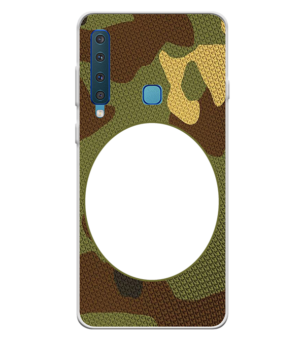 Camouflage Photo Back Cover for Samsung Galaxy A9 (2018)