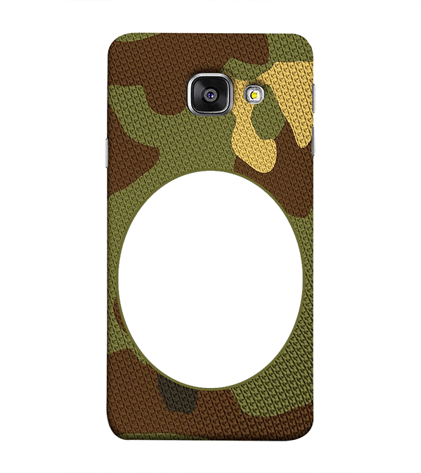 Camouflage Photo Back Cover for Samsung Galaxy A9 Pro
