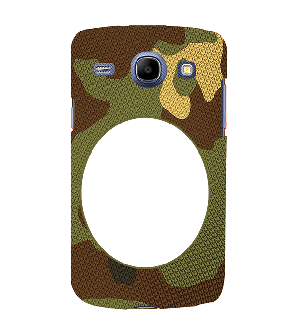 Camouflage Photo Back Cover for Samsung Galaxy Core I8260