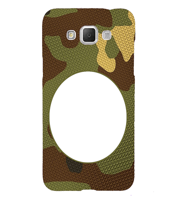 Camouflage Photo Back Cover for Samsung Galaxy Grand Max G720