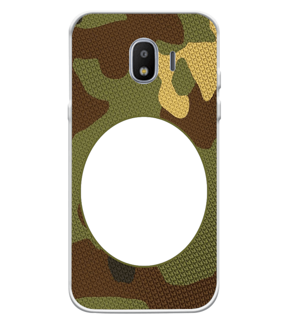 Camouflage Photo Back Cover for Samsung Galaxy J2 (2018)