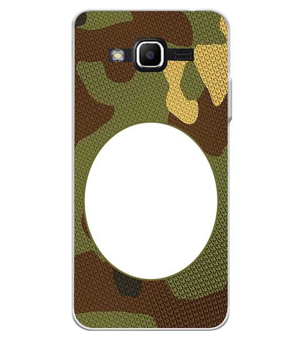 Camouflage Photo Back Cover for Samsung Galaxy J2 Ace
