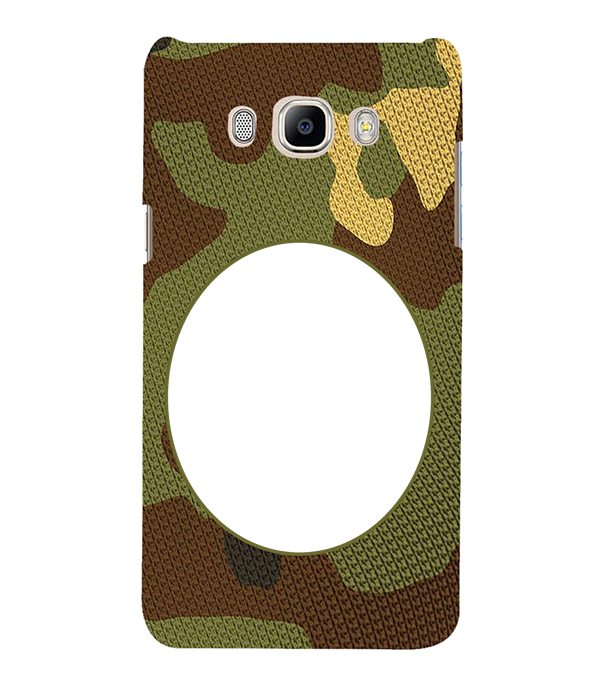 Camouflage Photo Back Cover for Samsung Galaxy J7 (6) 2016 : Galaxy On 8