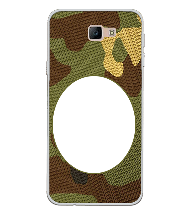 Camouflage Photo Back Cover for Samsung Galaxy J7 Prime (2016)