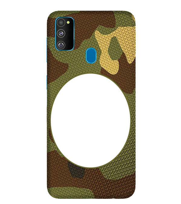 Camouflage Photo Back Cover for Samsung Galaxy M30s