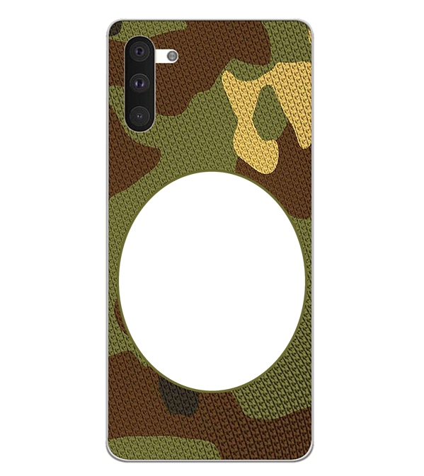 Camouflage Photo Back Cover for Samsung Galaxy Note 10