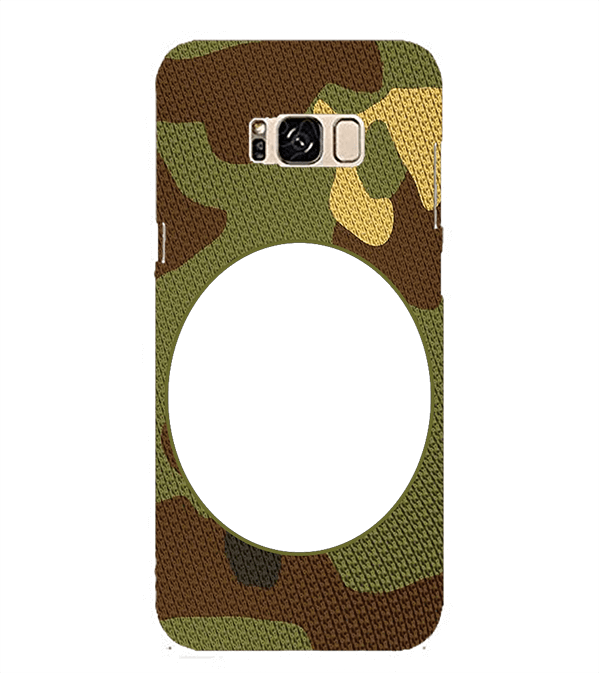 Camouflage Photo Back Cover for Samsung Galaxy S8 Plus