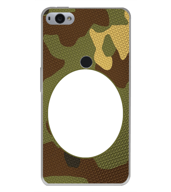 Camouflage Photo Back Cover for Smartron SRT Phone