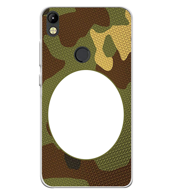Camouflage Photo Back Cover for Tecno Camon I