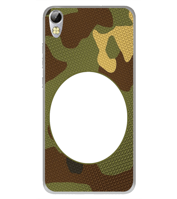 Camouflage Photo Back Cover for Tecno I3 Pro