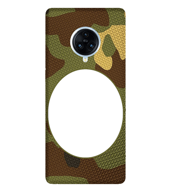 Camouflage Photo Back Cover for Vivo NEX 3