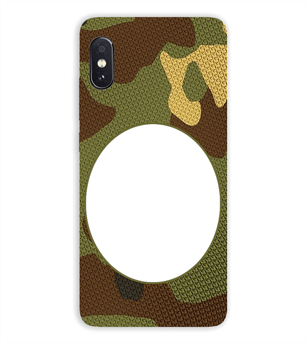 Camouflage Photo Back Cover for Vivo NEX S