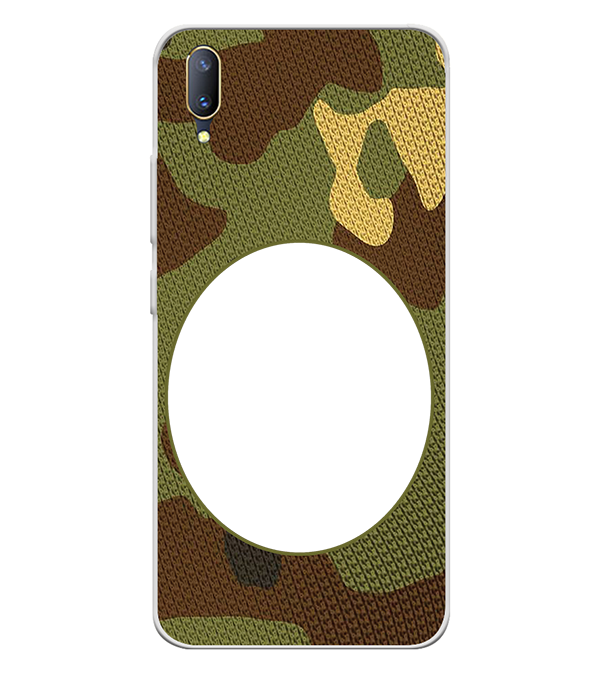 Camouflage Photo Back Cover for Vivo V11 Pro