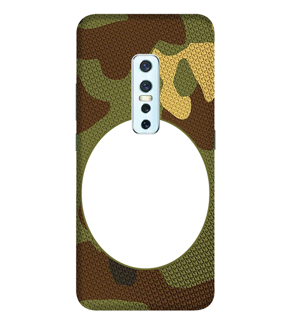 Camouflage Photo Back Cover for Vivo V17 Pro
