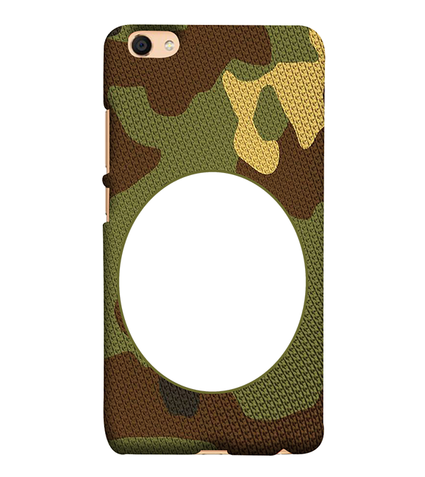 Camouflage Photo Back Cover for Vivo V5 : V5s