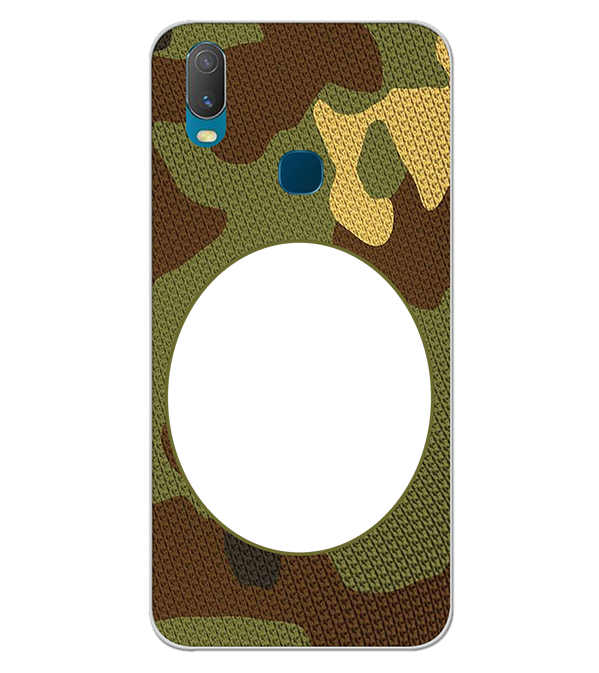 Camouflage Photo Back Cover for Vivo Y11 (2019)