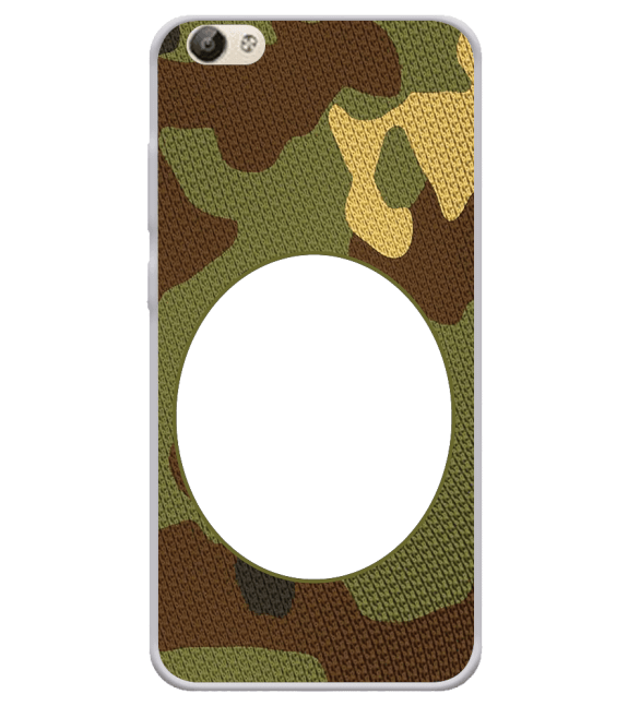 Camouflage Photo Back Cover for Vivo Y66