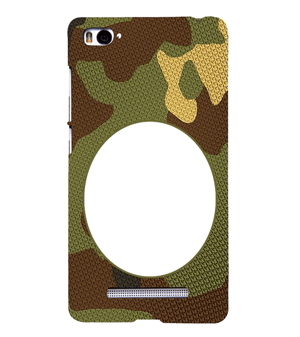 Camouflage Photo Back Cover for Xiaomi Mi 4i