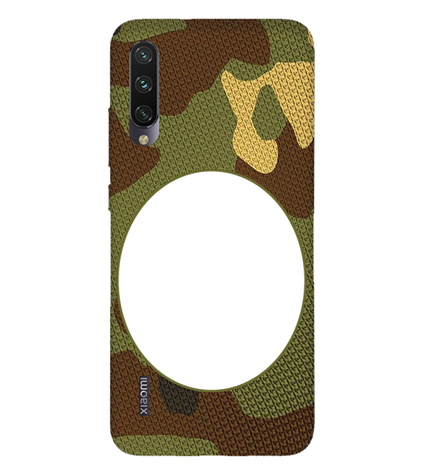 Camouflage Photo Back Cover for Xiaomi Mi A3