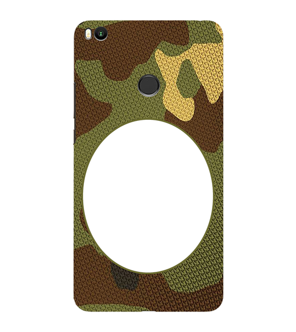Camouflage Photo Back Cover for Xiaomi Mi Max 2