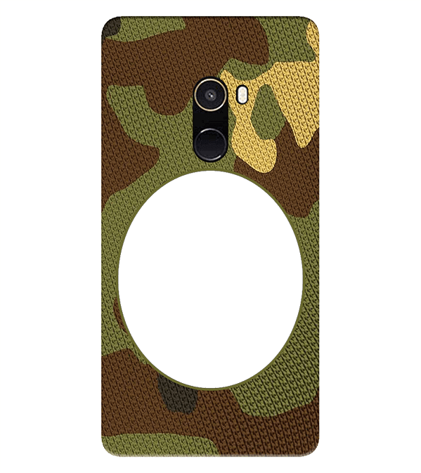 Camouflage Photo Back Cover for Xiaomi Mix 2