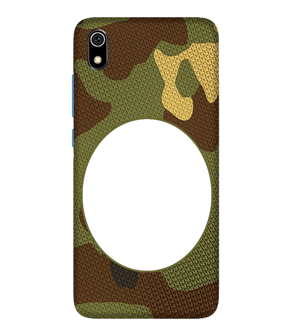 Camouflage Photo Back Cover for Xiaomi Redmi 7A