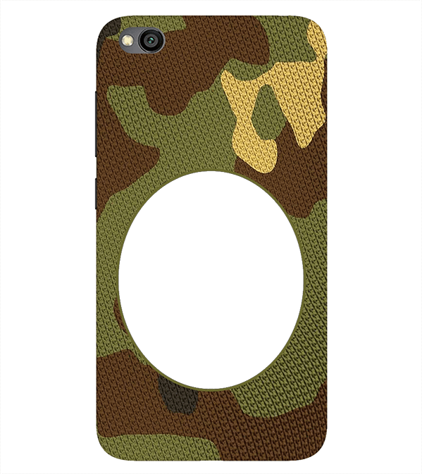 Camouflage Photo Back Cover for Xiaomi Redmi Go