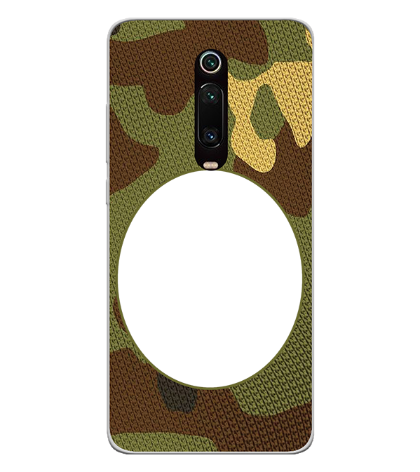 Camouflage Photo Back Cover for Xiaomi Redmi K20 and K20 Pro