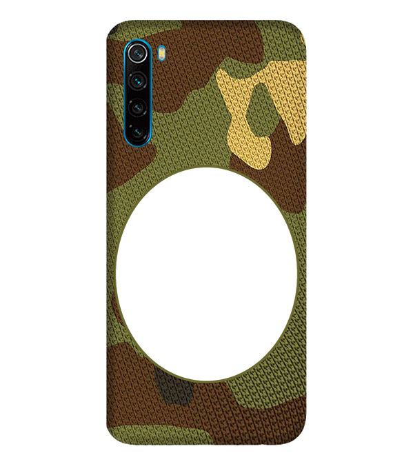 Camouflage Photo Back Cover for Xiaomi Redmi Note 8