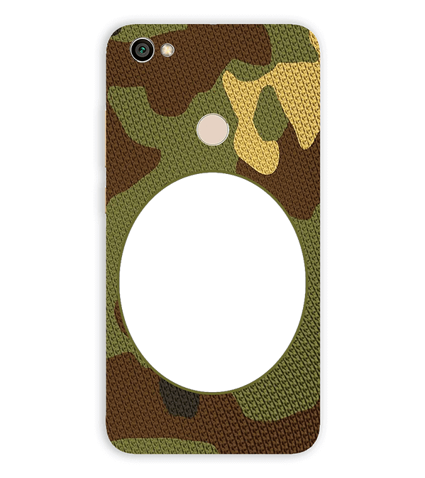 Camouflage Photo Back Cover for Xiaomi Redmi Y1