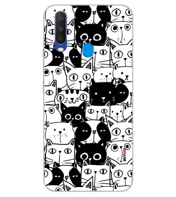 Cats Back Cover for Samsung Galaxy A60