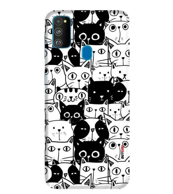 Cats Back Cover for Samsung Galaxy M30s
