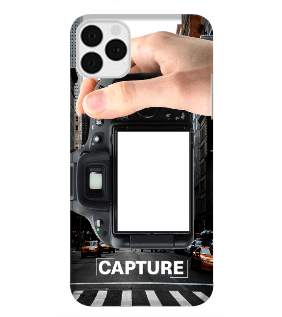 Capture Photo Back Cover for Apple iPhone 11 Pro