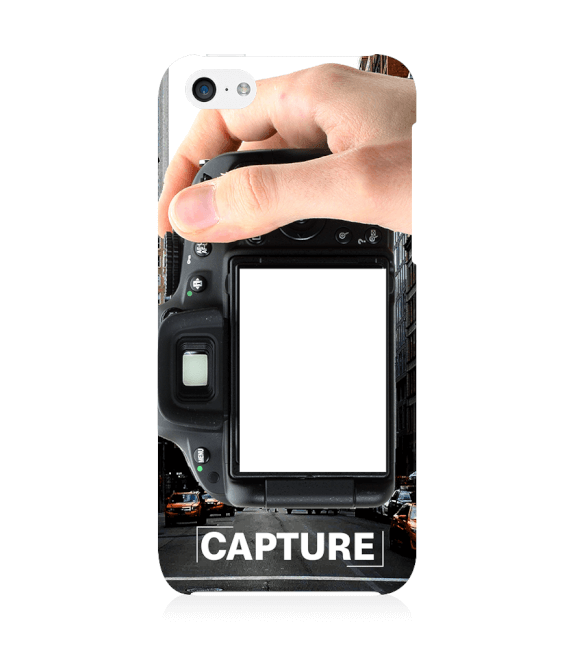 Capture Photo Back Cover for Apple iPhone 5c