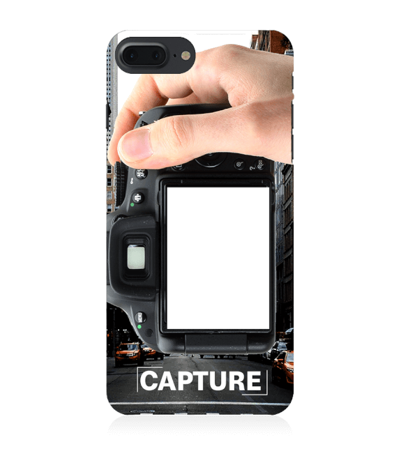 Capture Photo Back Cover for Apple iPhone 8 Plus