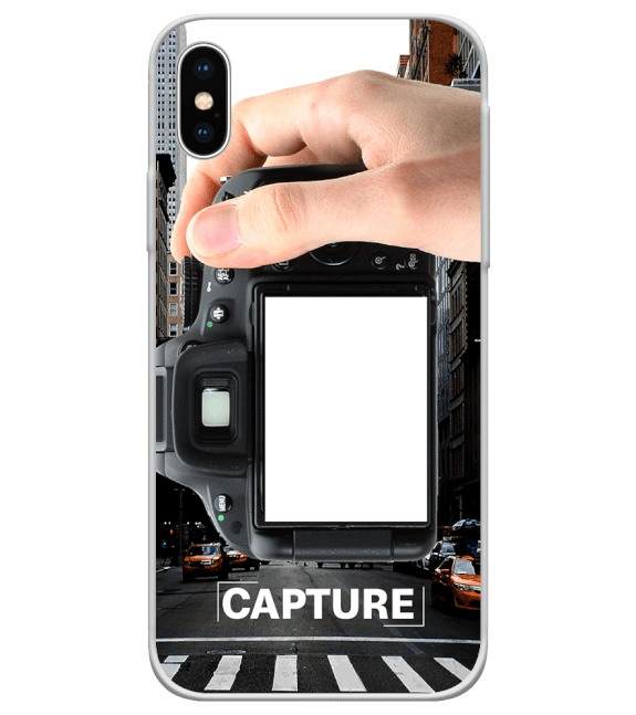 Capture Photo Back Cover for Apple iPhone X