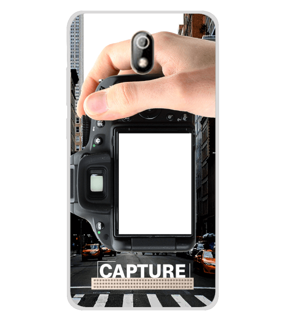 Capture Photo Back Cover for Comio C1 Pro