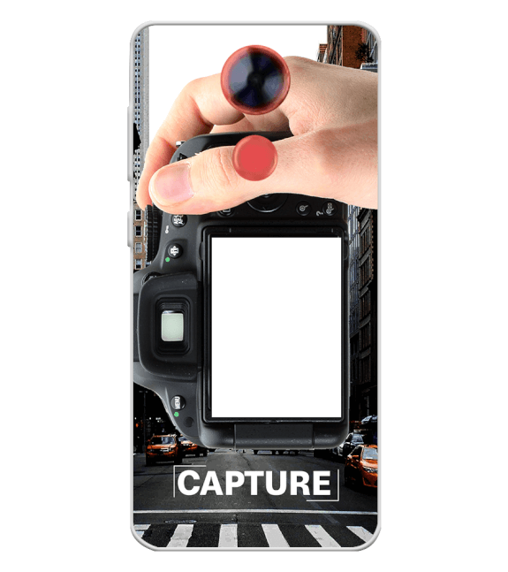 Capture Photo Back Cover for Comio X1