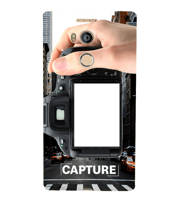 Capture Photo Back Cover for Gionee Elife E8