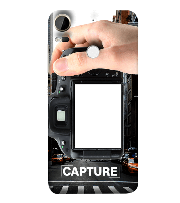 Capture Photo Back Cover for HTC Desire 10 Pro